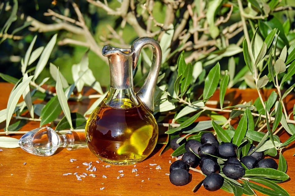 Olive Oil In Jug
