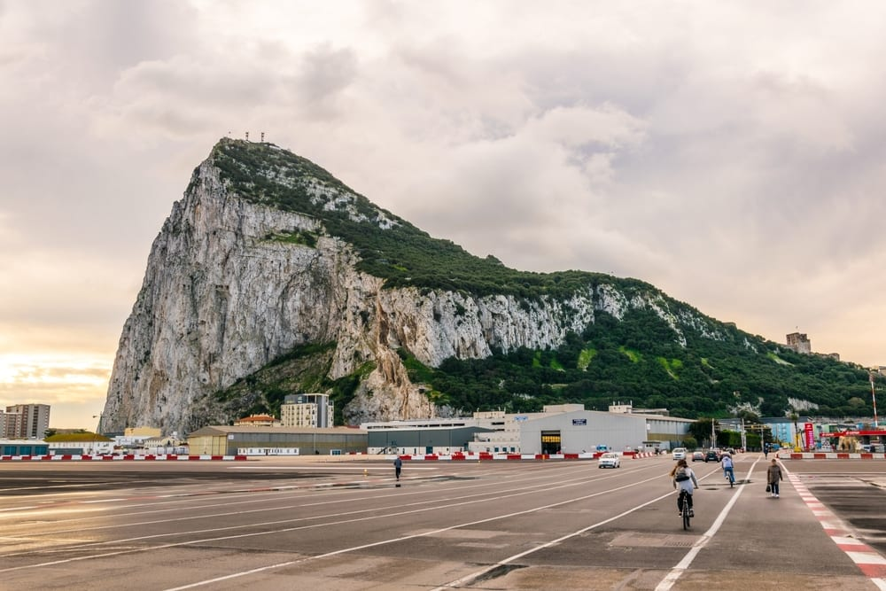 Morning Jog in Gibraltar