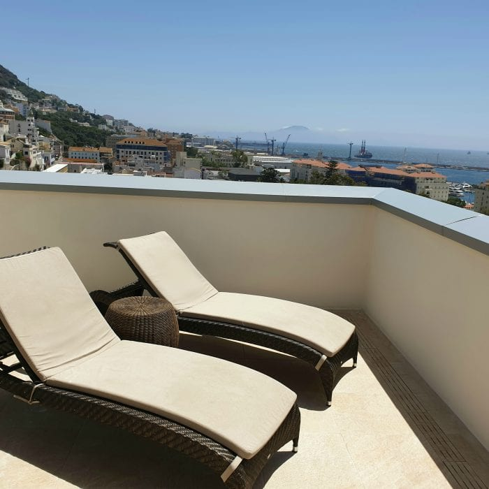 Deluxe Penthouse with balcony Gibraltar