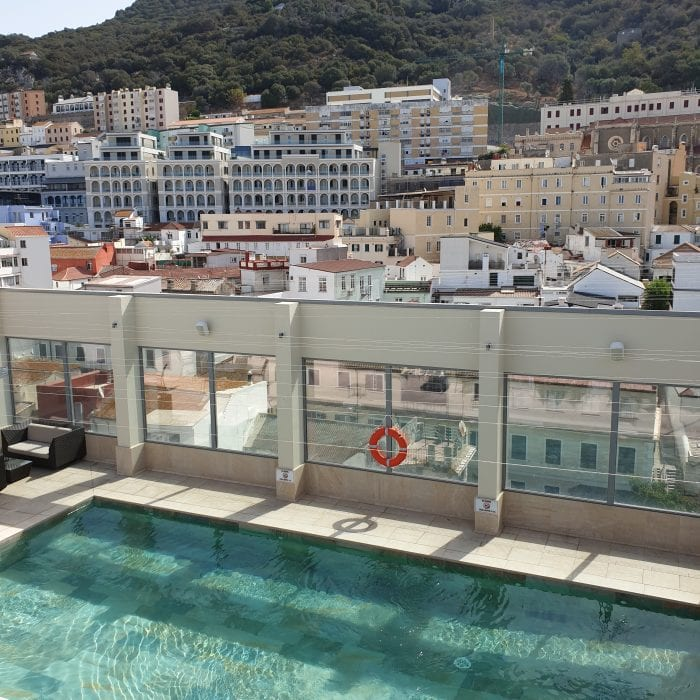 Roof Top Pool Gibraltar Hotel
