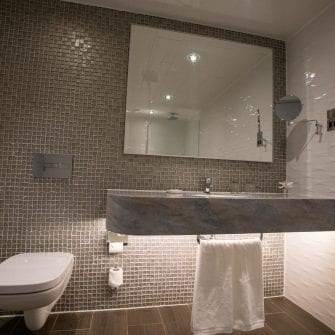 Bathroom At The Eliott Hotel