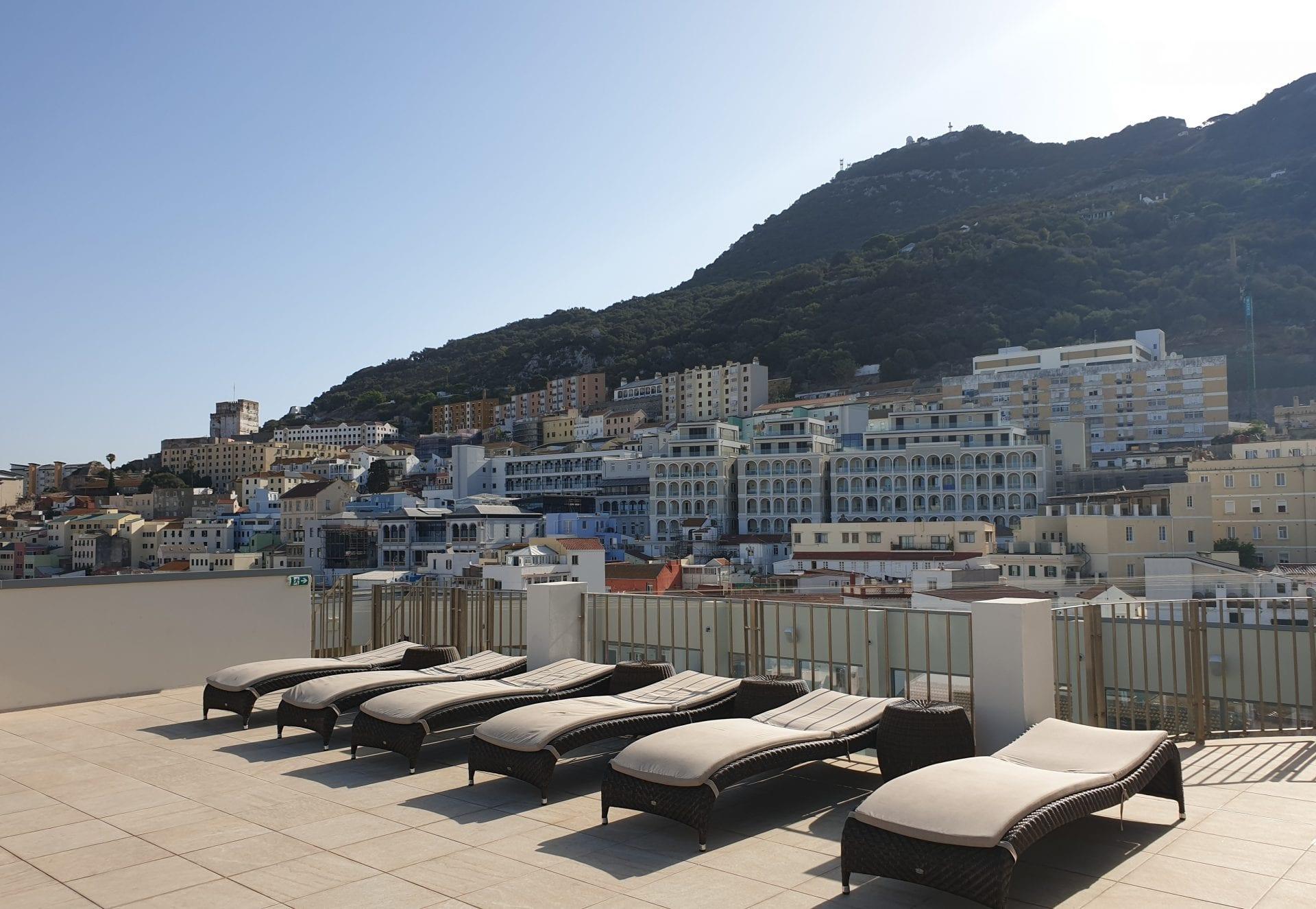 Roof Top Terrace Gibraltar Hotel