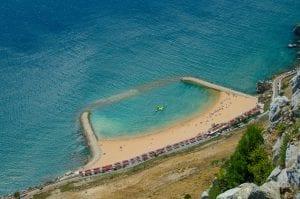Sandy Bay in Gibraltar