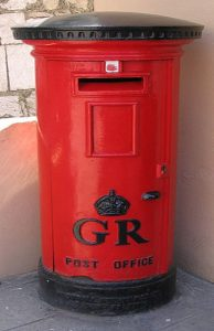 Gibraltar Post Box