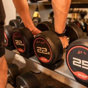 weights in The Eliott Gibraltar